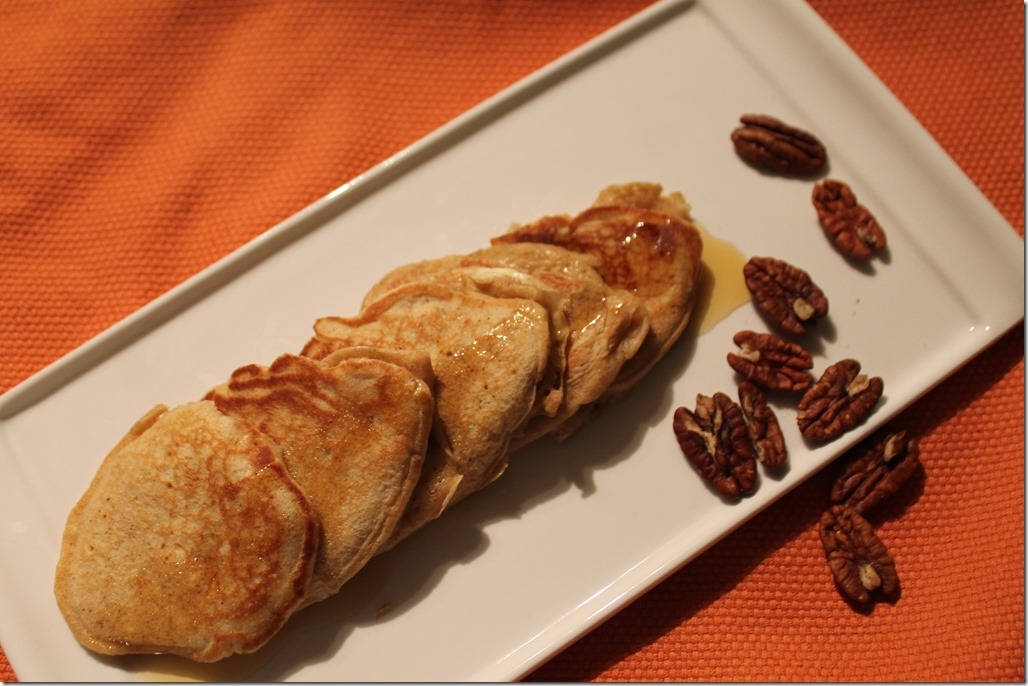 Pumpkin Spice Protein Pancakes - My Healthy, Happier Life